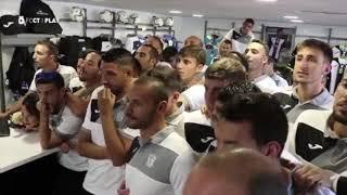 Así reaccionó el Cartagena al sorteo de Copa del Rey tras el emparejamiento con el Sevilla