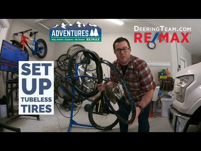 How to set up Tubeless tires on your mountain bike