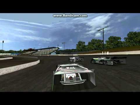 Dirt track racing (DTR2) Race at Orange County Fair Speedway (OCFS)