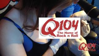 pierce your own nipple q104s 10 000 would you rather challenge