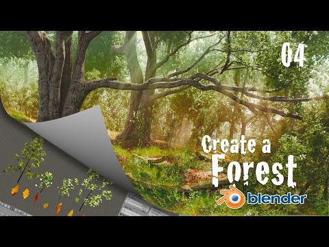 How to Create a Forest in Blender : Low Poly Trees - 4 of 6