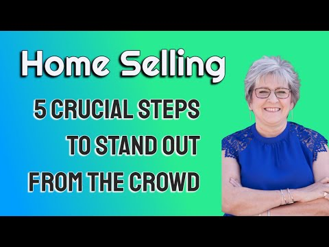 Serious About Selling? - 5 STEPS TO STAND OUT FROM THE CROWD!