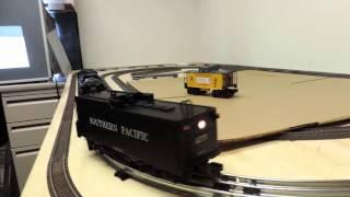 o gauge mth rail king 4 8 8 2 southern pacific rr cab forward steam locomotive tender 4275