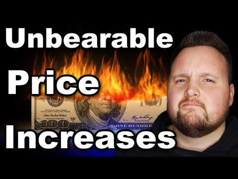 Major Corporations Warn: Huge Price Increases Coming As Commodities & inflation Skyrocket