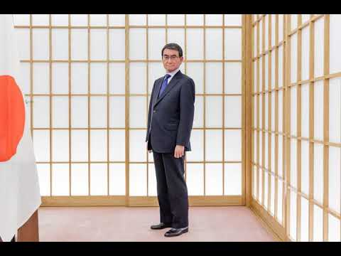 In Japan a Liberal Maverick Is Seeking to Lead a Conservative Party