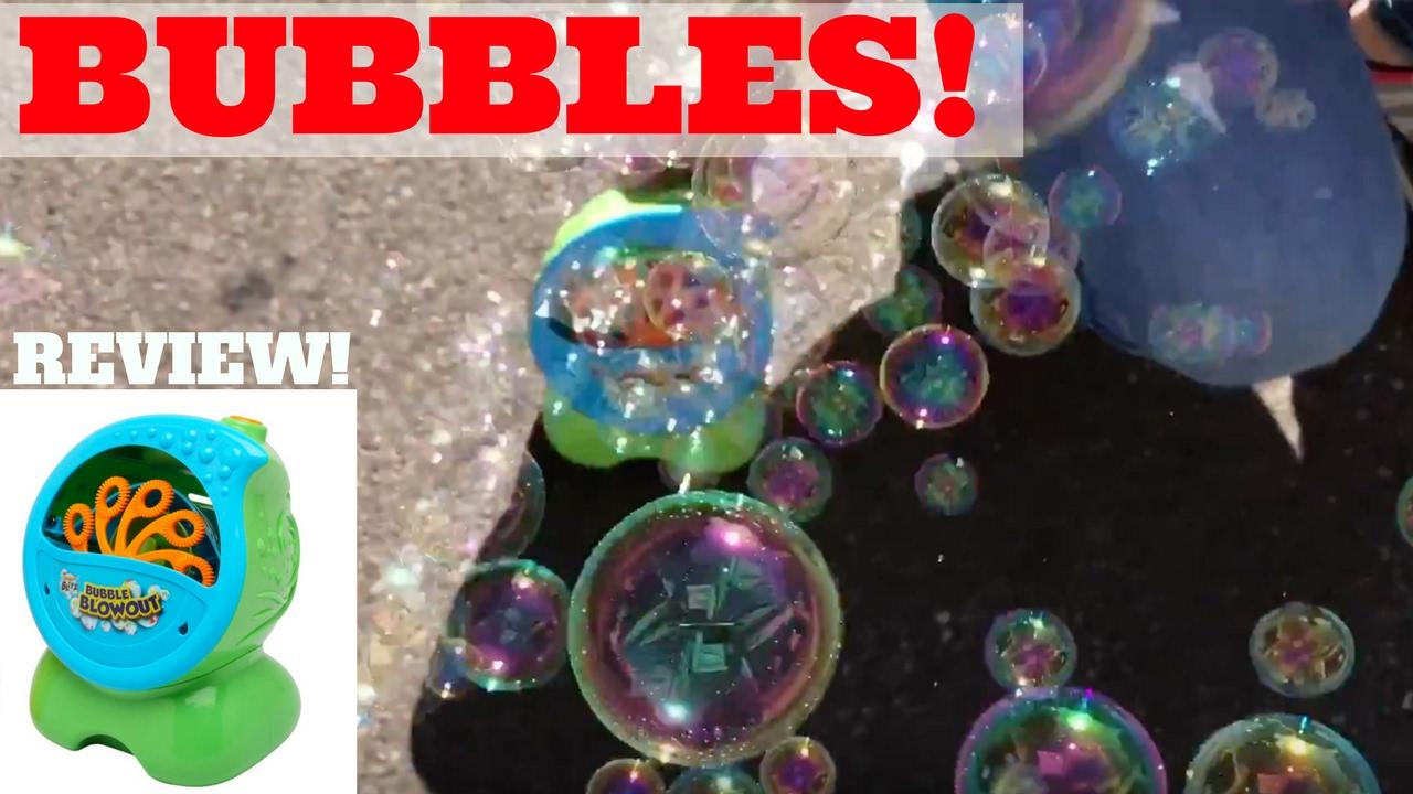 Kids Toy Bubble Blowout Party Machine Review Amazon Best Seller