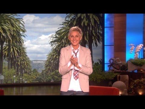 Ellen Commends President Obama