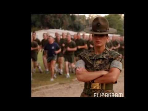 Female marines and our brothers