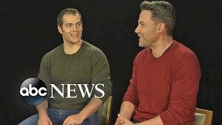 Ben Affleck and Henry Cavill on the Making of
