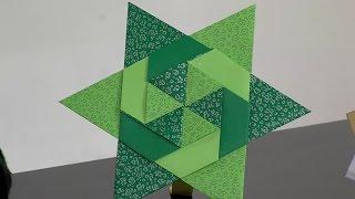 Origami: Estrella de Seis Puntas - Hogar Tv  por Juan Gonzalo Angel