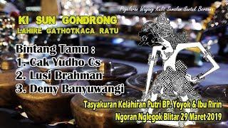 Gambar cover Wayang Kulit Ki Sun Gondrong Yudho Cs, Lusi Brahman, Demi Banyuwangi