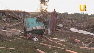 Природный катаклизм разрушил деревню в Башкирии.