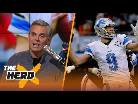 Matt Stafford is now the highest paid player in NFL history - here's why he's worth it | THE HERD