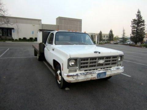 1978 Chevy Custom Deluxe 30 Flatbed Truck on GovLiquidationcom