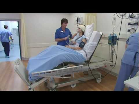 Howard Wright Cares - M8 Intensive Care Bed