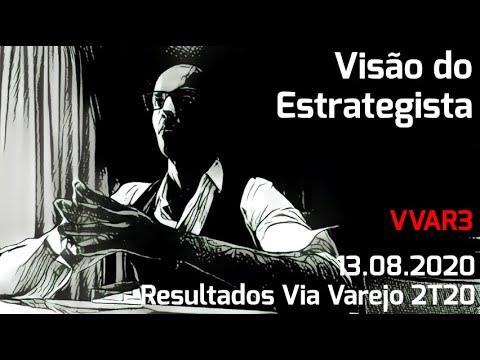13.08.2020 - Visão do Estrategista - Resultados Via Varejo 2T20 - VVAR3