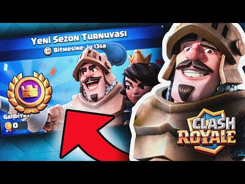 YENİ SEZON TURNUVASI ( Madenci Destesi ) Clash Royale