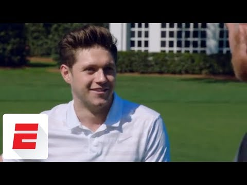 Niall Horan and Marty Smith play course at Augusta National ahead of The Masters | ESPN