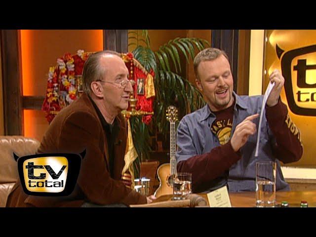 Mike Krüger und Raab enthüllen die TV total Redaktion - TV total