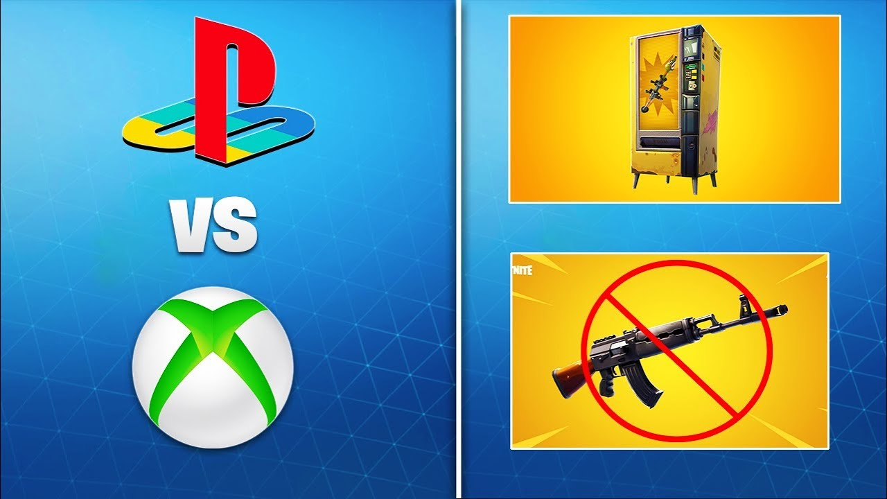 Patch Notes 8.10 Fortnite New Fortnite Update 8 10 Changes Xbox Ps4 Lobbies Merge Vending Machine Gold Ak More Youtube