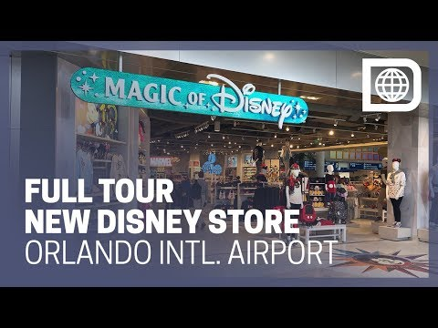 OPENING TOUR - New Magic of Disney Store at Orlando International Airport (MCO)