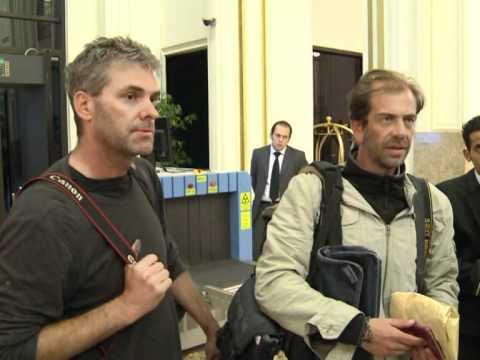 Libya frees AFP, Getty journalists