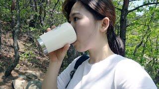 등산하기 좋은 날(관악산과 멸추김밥)