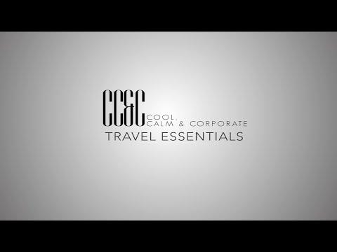 Cool Calm & Corporate Presents: Travel Essentials