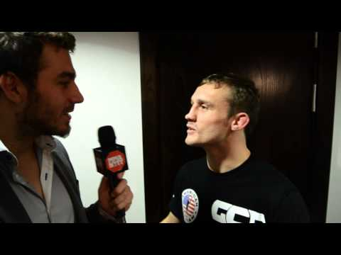 Interview with Brad Pickett at UFC on Fuel 7