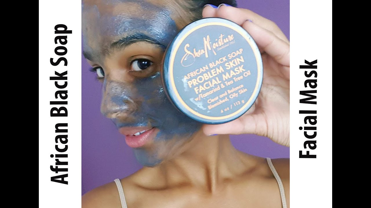 African Black Soap Clarifying Mud Mask by SheaMoisture #6