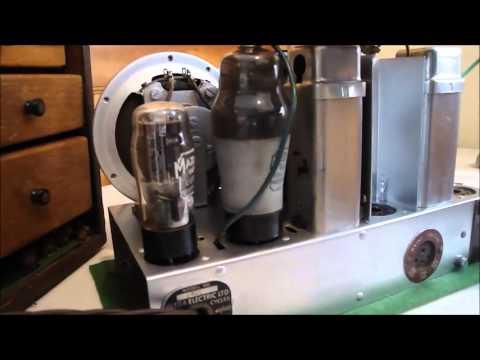Ultra-electric model T-401 1946 tube radio restoration Part 6 of ?