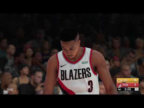 NBA 2K19 - Los Angeles Lakers vs Portland Trail Blazers