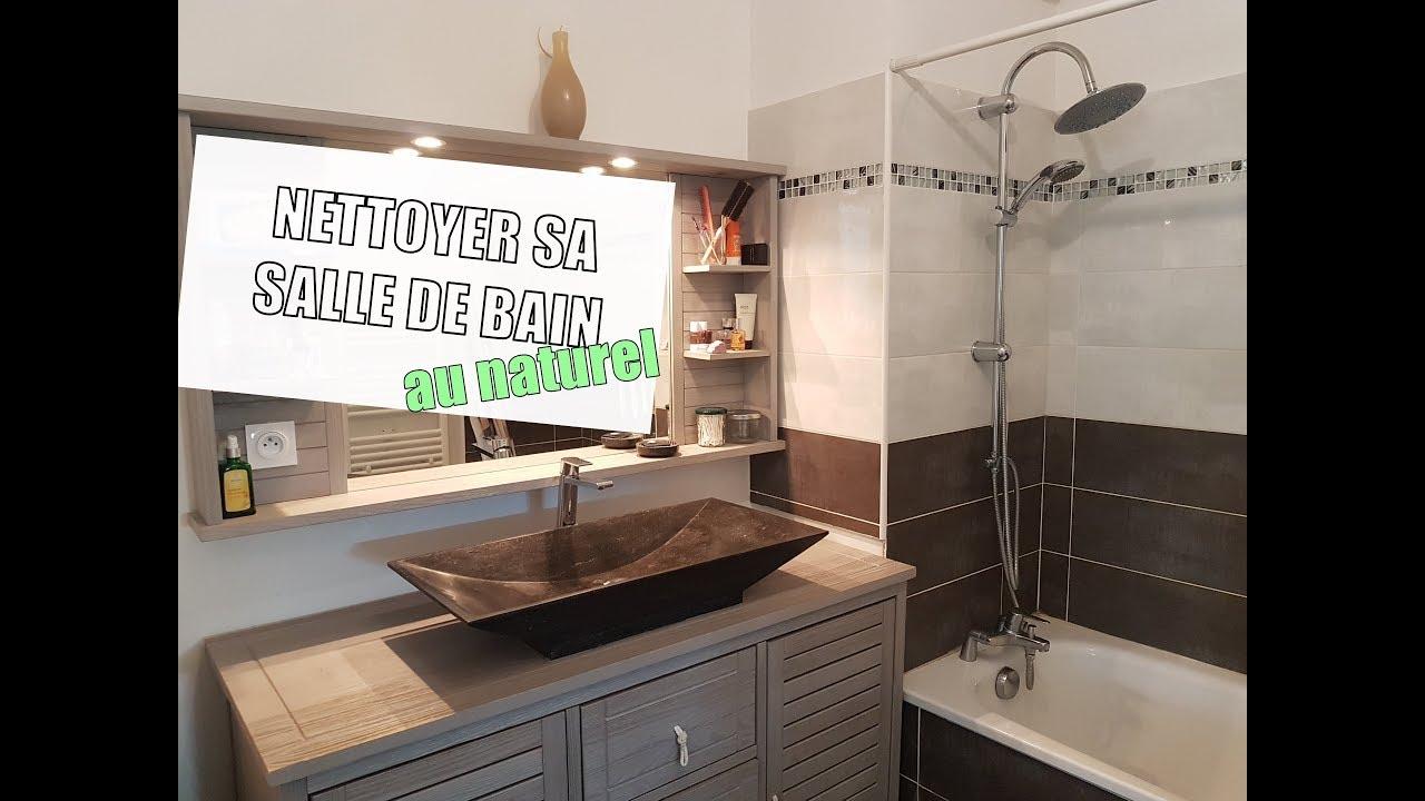 Comment nettoyer sa salle de bain (au naturel)