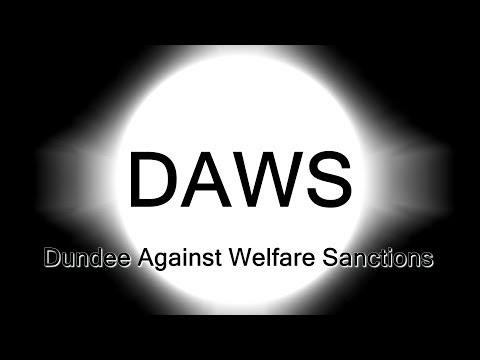 DAWS protest at Job Centre