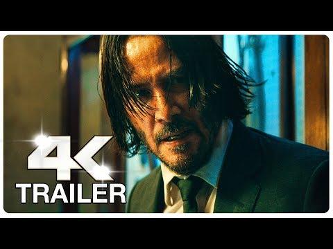 JOHN WICK 3 : 5 Minute Trailers (4K ULTRA HD) NEW 2019