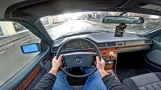 Mercedes Benz W124 Ce300 180Ps (1991) POV Test Drive Onboard