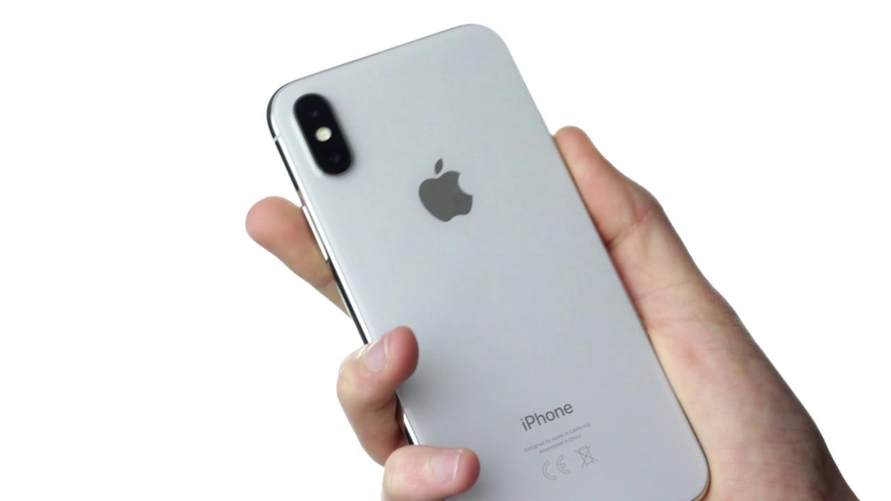 unboxing de l 39 iphone x couleur argent et premi res impressions youtube