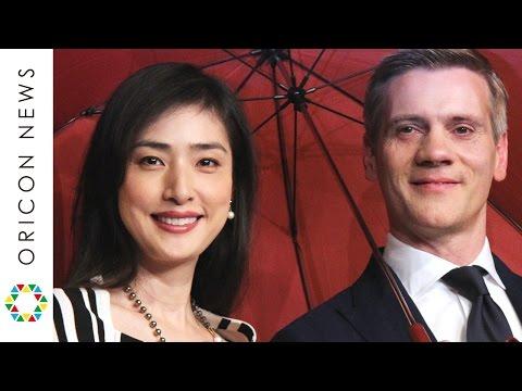 天海祐希、憧れのダンサーに対面し大興奮 『SINGIN' IN THE RAIN雨に唄えば』アダム・クーパー来日会見