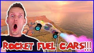 Rocket Fuelled Flying Bugatti!!!