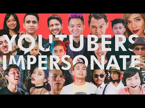 INDONESIAN YOUTUBERS IMPERSONATION (Reza Arap, Kemal Palevi, Awkarin, Young Lex)