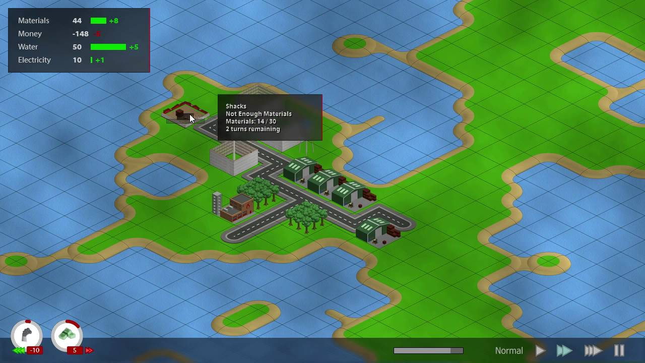 New City Building Game Dev: Added Map, New UI and Sound Effects Game Dev Map on