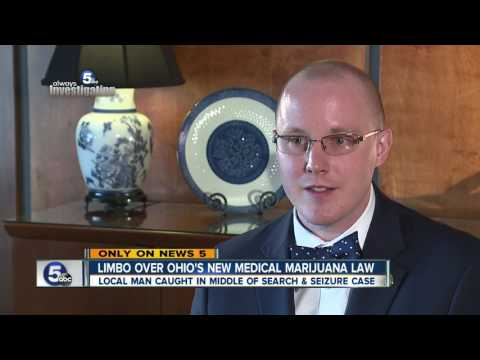 Local man caught in middle of Ohio's new medical marijuana law
