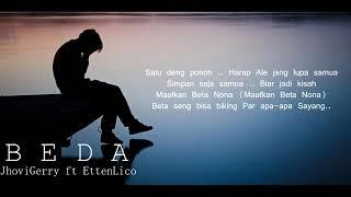 ''B E D A''   JhoviGerry ft EttenLico Lirik