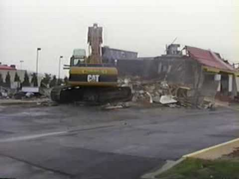 McDonald's Demolition Wichita, KS - Part 1