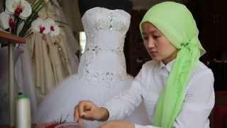 как делаем свадебные платья