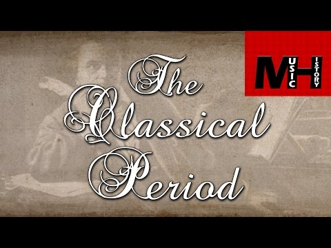 The Classical Period [MH]