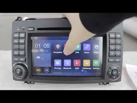 "7"" ANDROID 5.1 64BIT 4-CORE RADIO DVD GPS WIFI A/B/VITOII/SPRINTER"