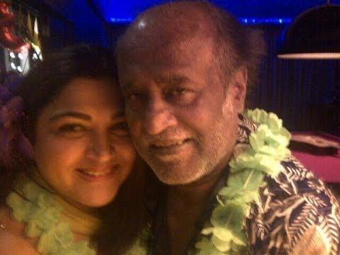 Rajinikanth, Chiranjeevi Reunite At Mohanlal's 80s Actors Party   Tamil Actors   Kushboo hot thumbnail