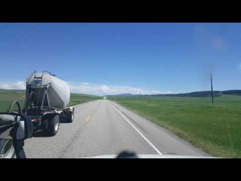 Bigrigtravels Eastbound US 26 in Idaho towards the Wyoming border Part I