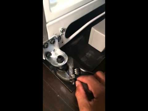 Refrigerator Height Adjustment Youtube